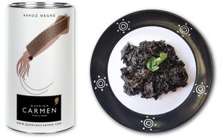 Schwarze Paella