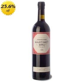 Priorat Red Crianza wine Martinet Bru 2010