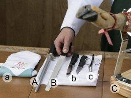 Jamon slicing accessories