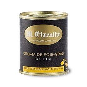 Cream of goose foie gras M. Etxenike 140 gr